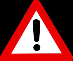 Alert message logo image
