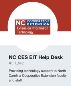 EIT Helpdesk Twitter account image