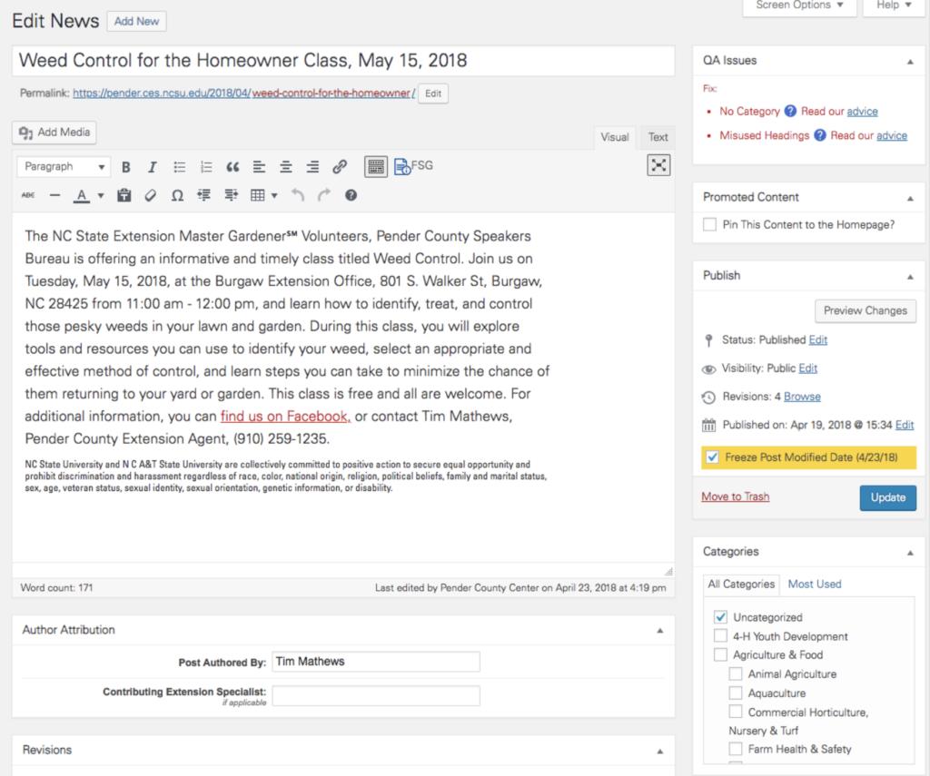 WordPress QA Module image